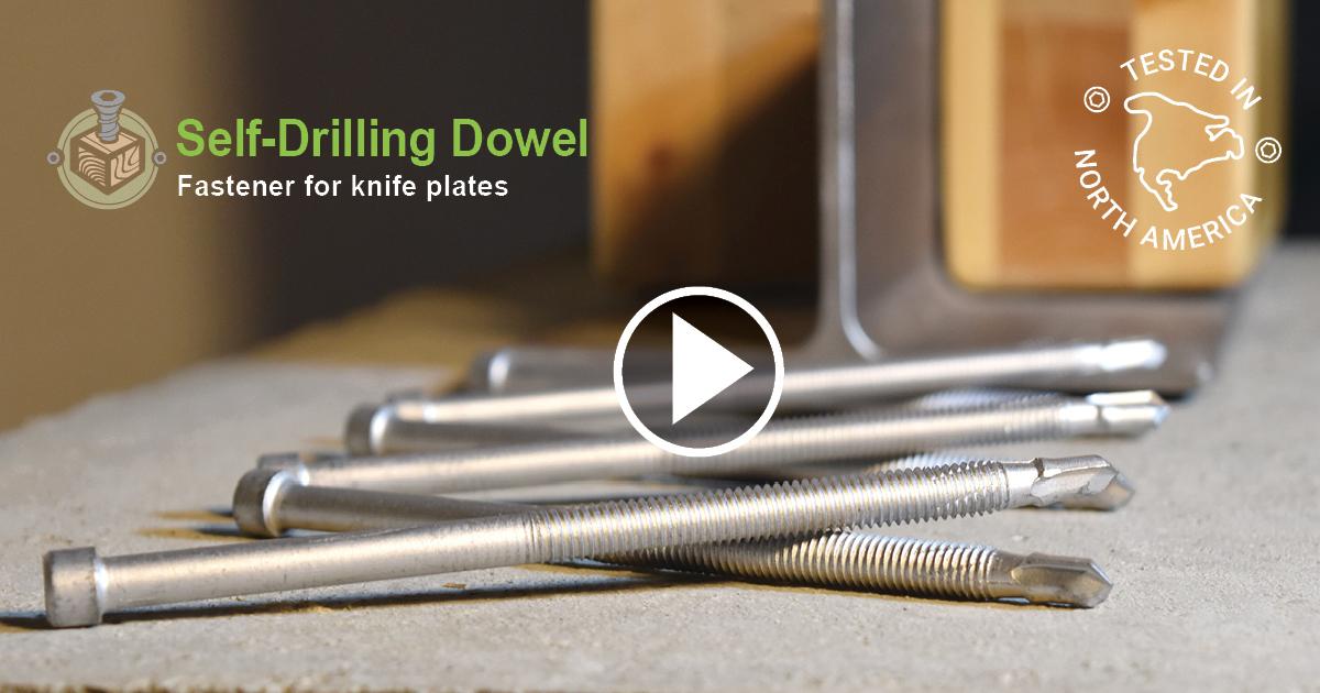 Self-Drilling Dowels [SDD] Installation