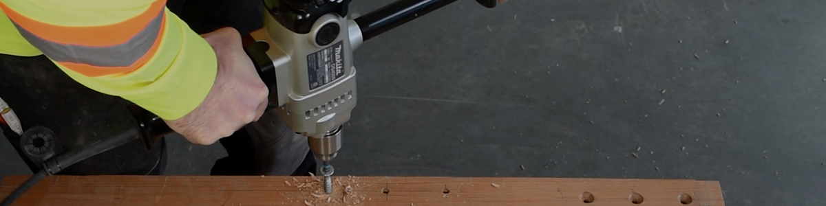 How to Install Long Fully Threaded Screws in Near Edge Applications
