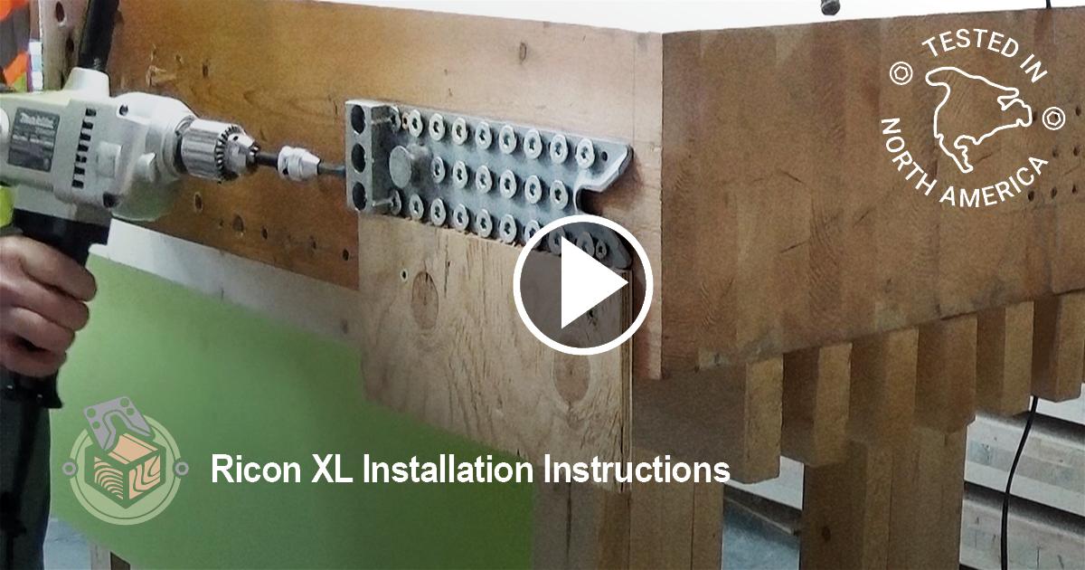 MTC Beam Hangers, RICON XL Installation