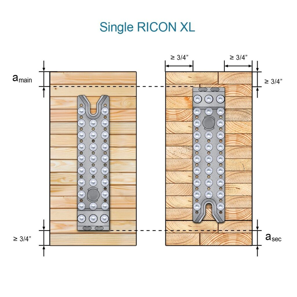 Single Ricon XL