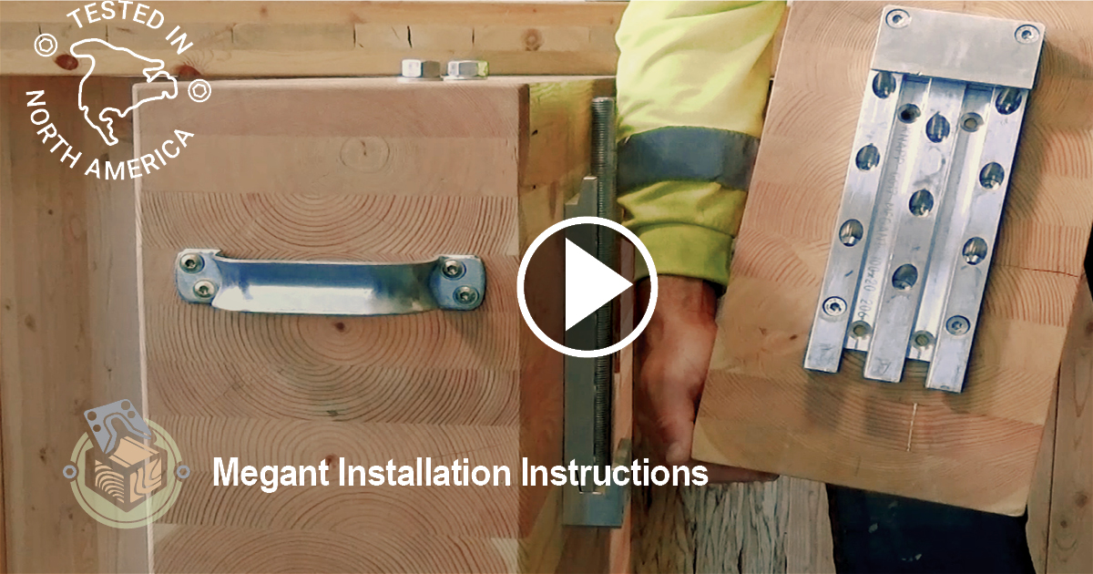 MTC Beam Hangers, MEGANT Installation