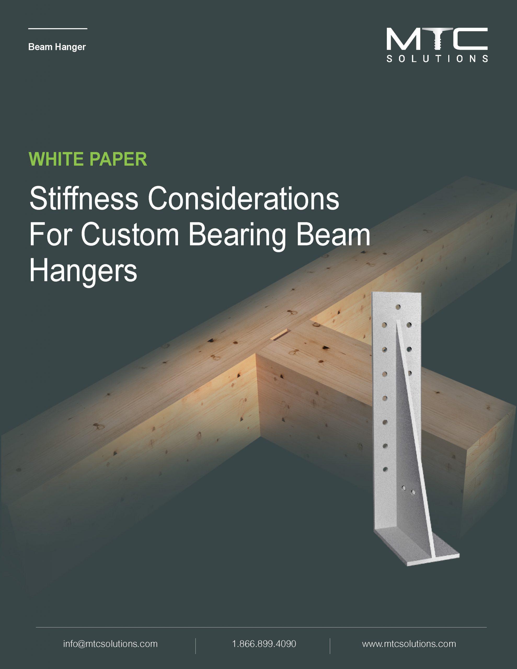 Stiffness Considerations for Custom Bearing Beam Hangers