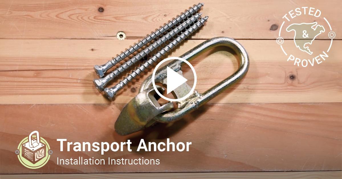 Transport Anchor Installation