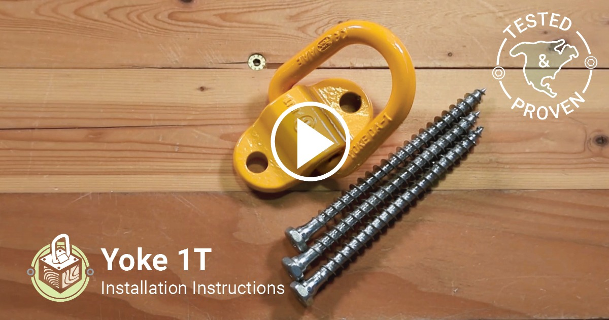 Yoke 1T Installation